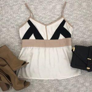 LOFT cream color blouse SIZE 0